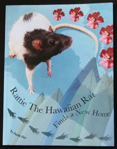 Rattie Book Cover: Design, Typography, Photos, Written by Faith Fay